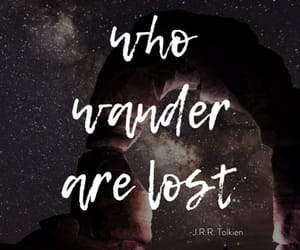 lost, quote, and wallpaper image