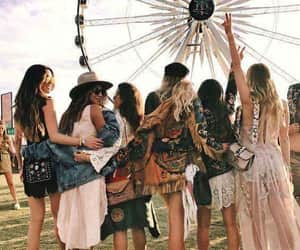 coachella, festival, and bff image