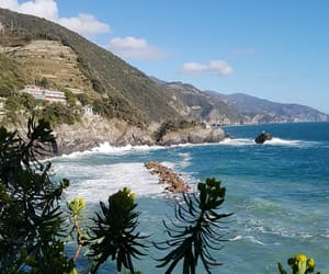 liguria, seaside, and spring image
