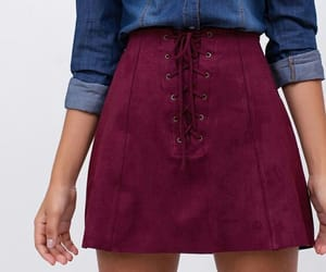 style, skirt, and fashion image