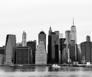 new york, nyc, and skyline image
