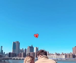 aesthetic, couple, and new york image