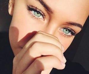 eyes, girl, and beauty image