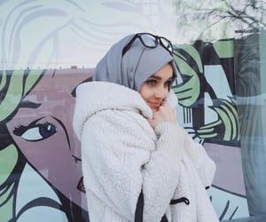 hijab, mode, and hijabstyle image