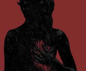 art, broke, and dark image