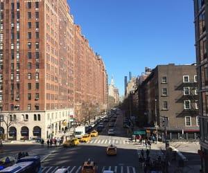 buildings, manhattan, and new york image