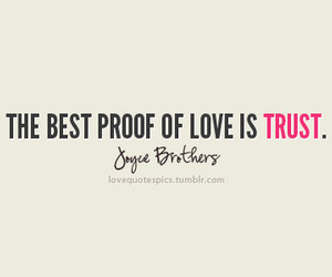 quotes, love, and trust image