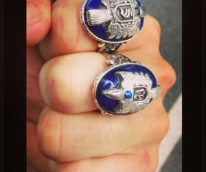 ring, tvd, and the vampire diaries image