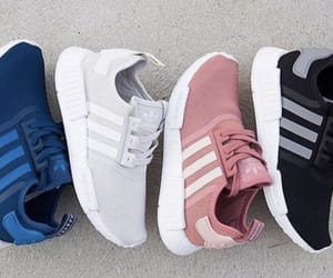 adidas, blue, and black image