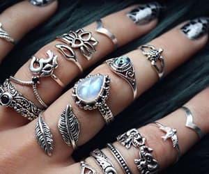 fashion, rings, and nail image