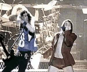 90s, gif, and rock n' roll image