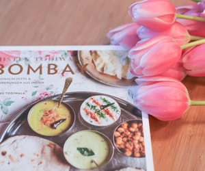 cookbook, flowers, and spring image