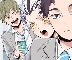 haikyuu, akaashi keiji, and bokuto koutarou image