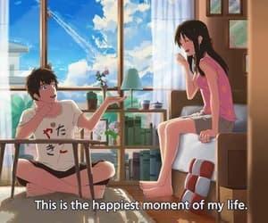 anime, mitsuha, and taki and mitsuha image