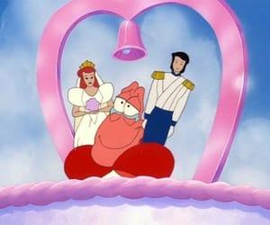 disney, the little mermaid, and sebastian image