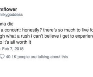concert, death, and funny image