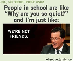 friends, lol, and school image