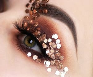 eyeshadow, makeup, and maquiagem image