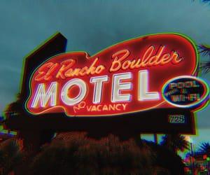 grunge, indie, and motel image