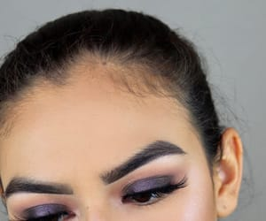 eyelashes, makeup tutorial, and makeup inspo image