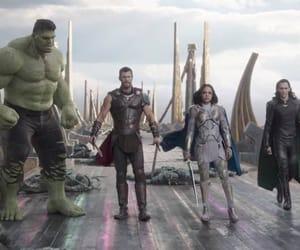 thor, Hulk, and Marvel image