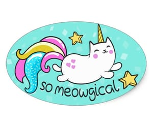 cats, kawaii, and stickers image
