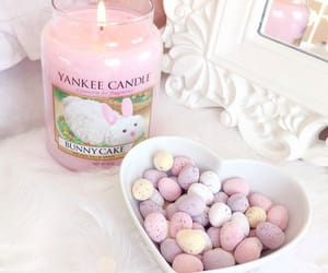 bunnies, easter, and pink image