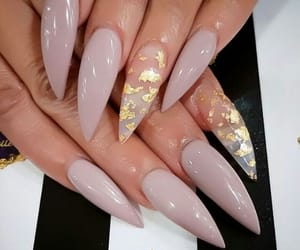 girly, luxury, and nails image