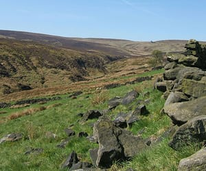 moors, wuthering heights, and wuthering heights moors image