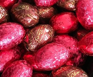 chocolates, easter, and pink image
