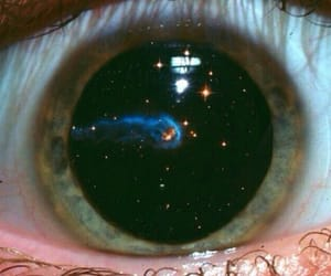 eyes, stars, and smells like teen spirit image
