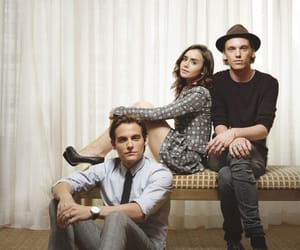 lily collins, Kevin Zegers, and Jamie Campbell Bower image