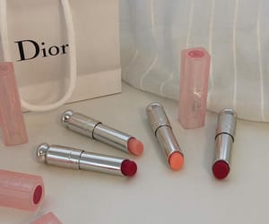 dior, makeup, and lipstick image