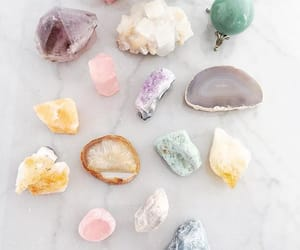 aesthetic, boho, and crystals image