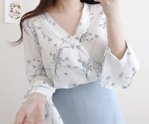 asian fashion, moda, and blouse image