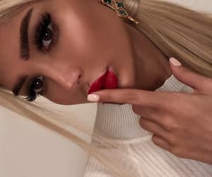 aesthetic, eyelash, and natural look image