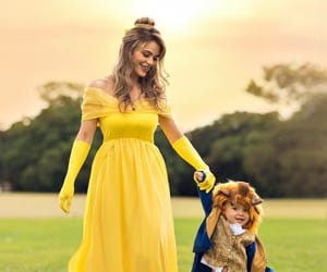 baby, beauty and the beast, and cute image