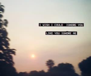broken, broken heart, and sunset image