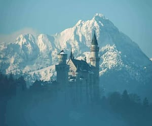 castle, cold, and fairytale image