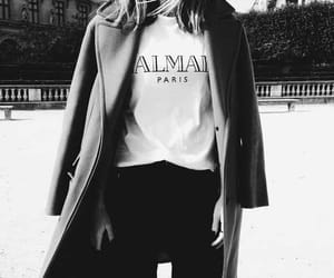 Balmain, black and white, and inspiration image