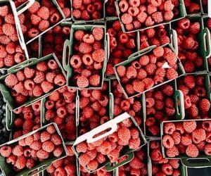 raspberry, fruit, and delicious image