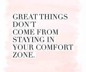 quotes, comfort, and comfort zone image