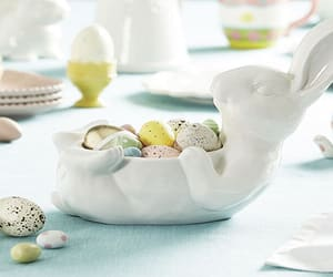 easter, easter decor, and easter bunny image