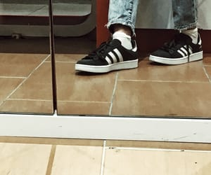 adidas, reflection, and campus image