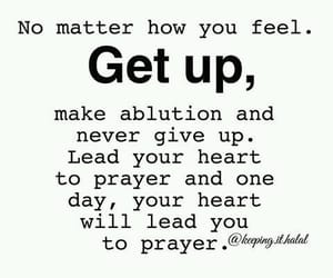 get up, keep, and striving image