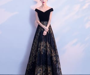 bling bling, evening dress, and fashion image