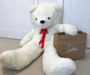 bear, gift, and teddy bear image