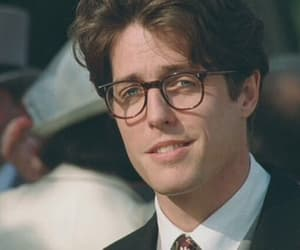 hugh grant and glasses image