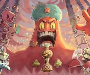 fanart and cuphead image