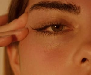 girl, aesthetic, and eyes image